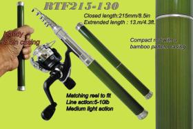 Opsrey compact hiker's rods. Compact telescopic rods that will fit in a shirt pocket