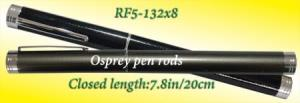 Osprey compact pen rods. Compact telescopic pen  rods enclosed in a pen like casing